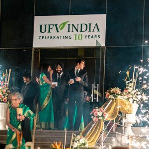Fireworks go off at UFV India's 10th anniversary celebration