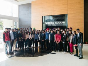 UFV students tour Sebiz Square in Mohali, India
