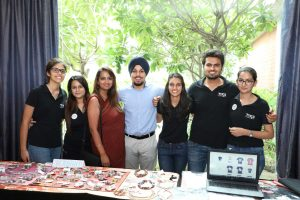 Student entrepreneurs launch a set of accessory products
