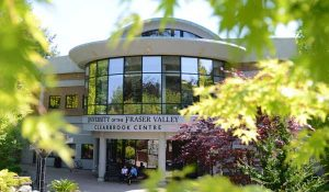 View of the UFV Clearbrook Centre location