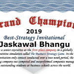 Jaskawal Bhangu shares his strategy to win BSG — a global business competition