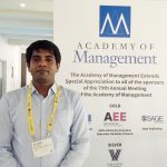 Prof. Sushil Kumar presents paper at the Academy of Management Conference 2019